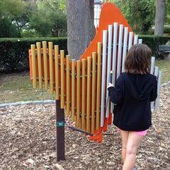 Photo taken at Memorial Park Playground by Ann M. on 10/1/2013
