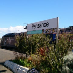 Photo taken at Penzance Railway Station (PNZ) by Ollie E. on 4/20/2013