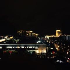 Photo taken at Xiamen Int'l Conf. & Exhi. Center 厦门国际会展中心 (XICEC) by Özge Ç. on 5/24/2015
