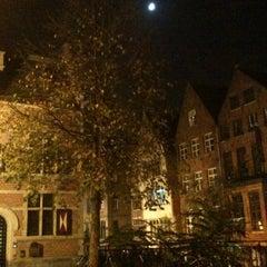 Photo taken at Sint-Veerleplein by RicoBel on 10/24/2012