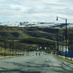 Photo taken at Cochrane, Alberta by JANE JJ K. on 4/18/2015