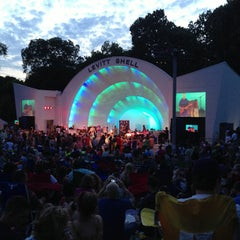 Photo taken at Levitt Shell by finnious f. on 7/14/2013