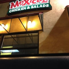 Photo taken at Mexicali Chicken & Salads by Giovanni C. on 10/4/2013