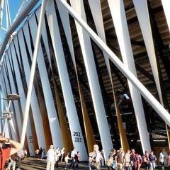 Photo taken at Olympic Stadium by Simon G. on 7/21/2013