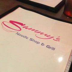Photo taken at Sammy's Noodle Shop by Gabriel C. on 6/13/2013