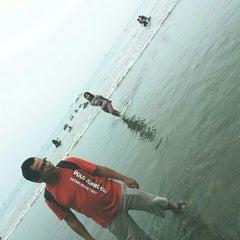 Photo taken at Tanjung Lesung by Ernald N. on 10/13/2013