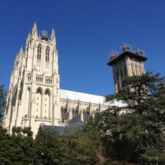 Photo taken at Washington National Cathedral by Paul A. on 3/10/2013