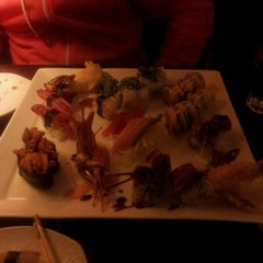 Photo taken at Sushi D by Christina D. on 1/15/2013