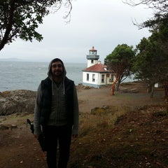 Photo taken at Lime Kiln Point State Park by Mathew H. on 9/22/2013