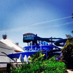 Photo taken at Aquaboulevard by Louis J. on 9/2/2013