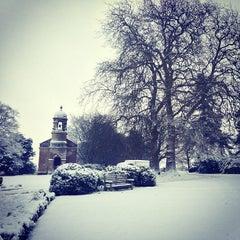 Photo taken at Babington House by Ollie M. on 1/18/2013