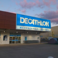 Photo taken at Decathlon by Andrew A. on 9/26/2012