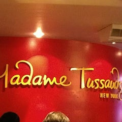 Photo taken at Madame Tussauds New York by Kathleen R. on 10/20/2012