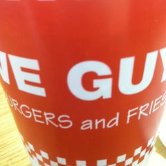 Photo taken at Five Guys by LJ on 2/27/2013