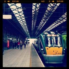 Photo taken at Dublin Connolly Railway Station by Yujin L. on 6/27/2013