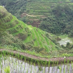 Photo taken at Banaue Rice Terraces Viewpoint by Mench L. on 5/29/2015