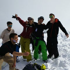 Photo taken at вр. Безбог, 2645м / Bezbog peak, 8677ft by Марияна Т. on 3/2/2015