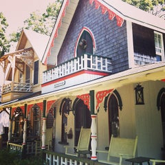 Photo taken at Martha's Vineyard Camp Meeting Association Cottages by Jackie on 8/18/2013