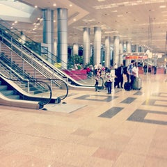 Photo taken at Terminal 3 by Mohamed K. on 6/9/2013