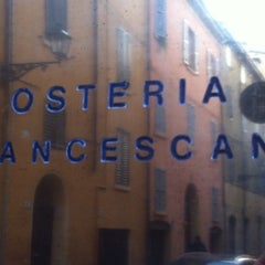 Photo taken at Osteria Francescana by Rachele W. on 12/16/2012