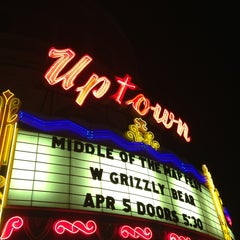 Photo taken at Uptown Theater by Tony M. on 4/6/2013