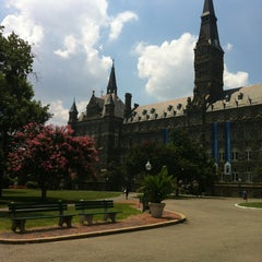 Photo taken at Georgetown University by Laurence H. on 7/18/2013