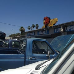 Photo taken at Lion's Complete Auto And Tire by Danny M. on 6/21/2013