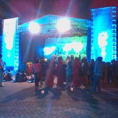 Photo taken at Stadion Gelora Bangkalan by Rizkia Putri Pambayu on 7/14/2014