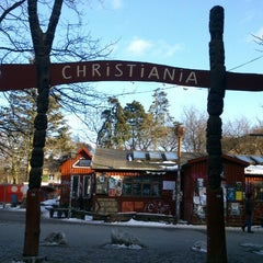 Photo taken at Christiania by Maria K. on 3/24/2013