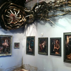 Photo taken at Varnish Fine Art by Donia on 10/14/2012