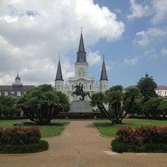 Photo taken at St. Louis Cathedral by Isaac C. on 6/13/2013