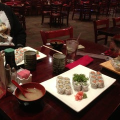 Photo taken at Oyama Japanese Steakhouse by Justin D. on 1/27/2013