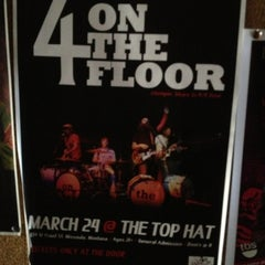 Photo taken at Top Hat Lounge by Gabriel D. on 3/25/2013