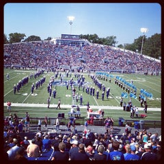 Photo taken at Foreman Field at S.B. Ballard Stadium by Gerry M. on 9/22/2012