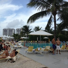 Photo taken at The Standard Spa, Miami Beach by Charnele M. on 7/21/2013