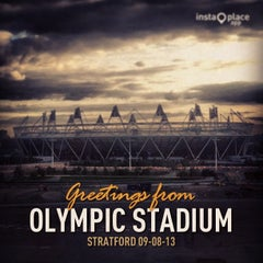 Photo taken at Olympic Stadium by Enrico V. on 8/12/2013