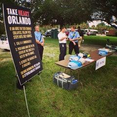 Photo taken at City Hall Plaza by Jen V. on 8/7/2013
