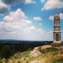 Photo taken at Big Round Top by Christophe J. on 8/8/2015