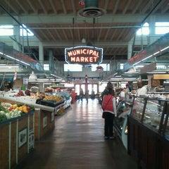 Photo taken at Sweet Auburn Curb Market by Benjamin C. on 10/29/2012