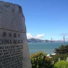 Photo taken at China Beach by Pam Z. on 5/27/2013