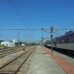Photo taken at 강릉역 (Gangneung Stn.) by Duck-il James R. on 9/11/2014