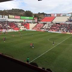 Photo taken at Gimnàstic de Tarragona by Carlos F. on 3/1/2015
