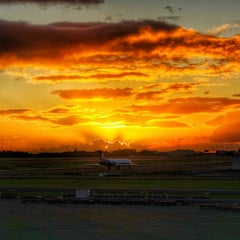 Photo taken at Gate 34 by Stephen C. on 12/25/2013