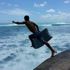 Photo taken at Waikiki Beach Walls by Stephen C. on 5/18/2013