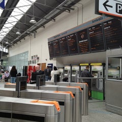 Photo taken at Cork Kent Railway Station by Merih Y. on 8/28/2013