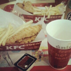 Photo taken at KFC by Juliana D. on 11/14/2012