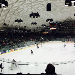 Photo taken at Thompson Arena at Dartmouth by Paola V. on 2/1/2015