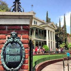 Photo taken at Haunted Mansion by Sean M. on 5/9/2013