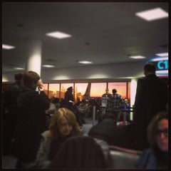 Photo taken at Gate C19 by Cosmo C. on 1/13/2014