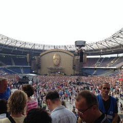 Photo taken at HDI Arena by Marc K. on 7/27/2013